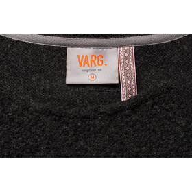 Varg Fårö Langes Wollkleid Damen dark anthracite